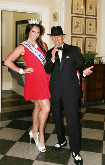 Frank w/the beautiful Mrs. Virginia International 2013 Amber Wandtke at the American Heart Association ``Go Red for Women`` Luncheon at ``The Chamberlin``, Hampton, VA  May 8th, 2013.   Photo courtesy of mfsphotography.com